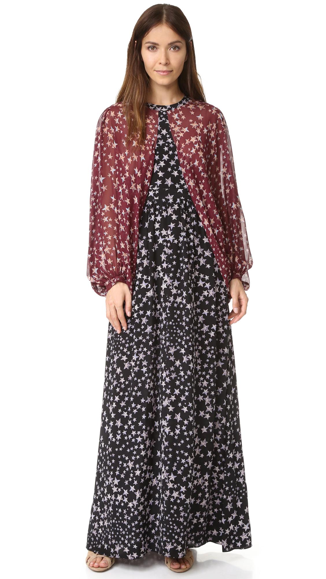 Bcbgmaxazria Linette Long Dress - Black Combo at Shopbop