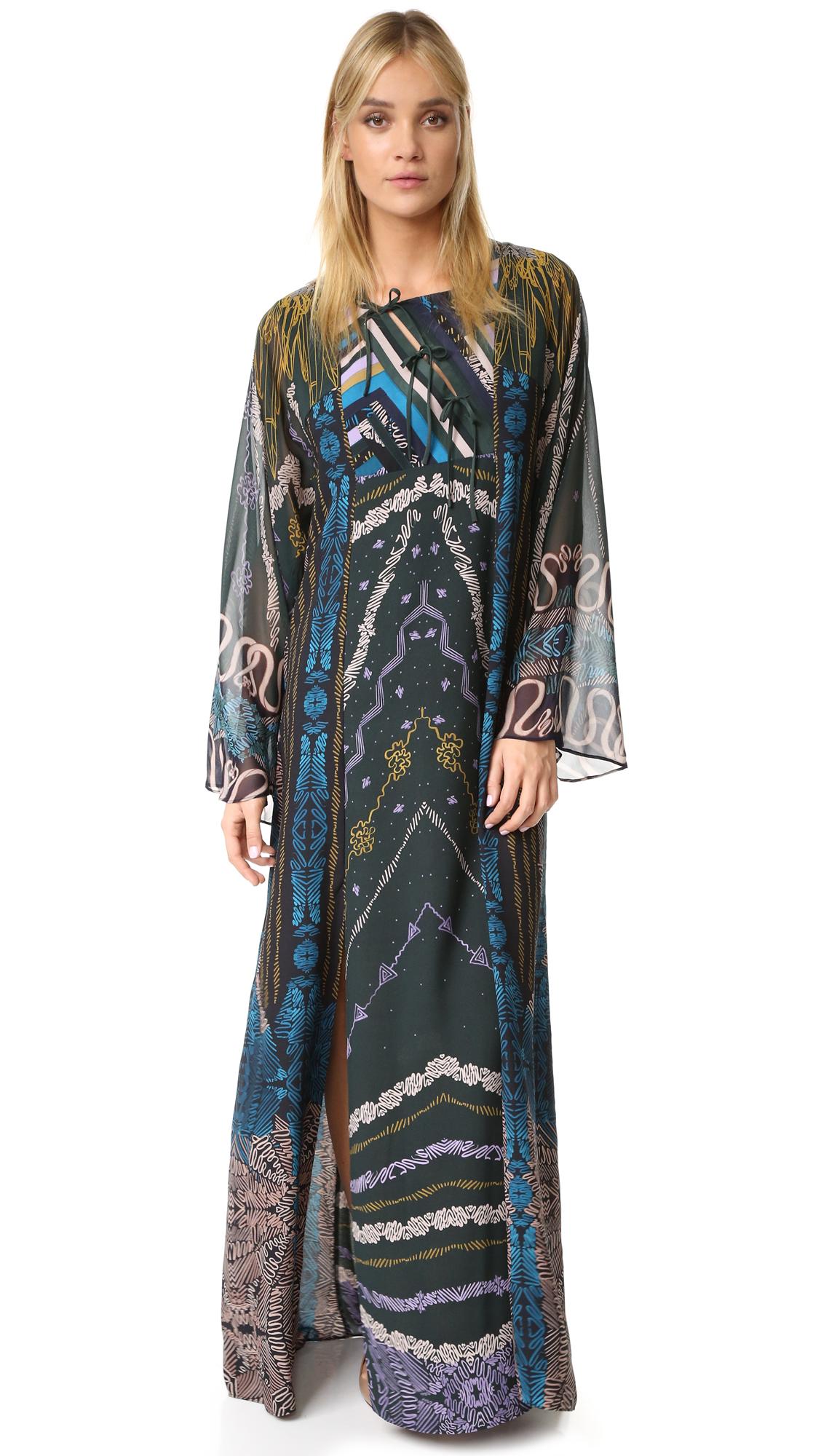 Bcbgmaxazria Finolla Dress - Pine Combo at Shopbop