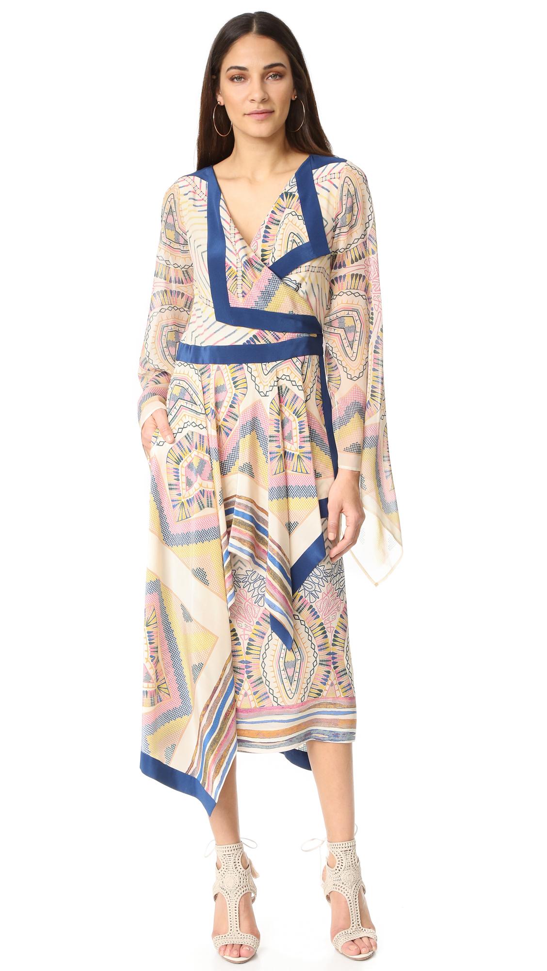Bcbgmaxazria Leda Dress - Cream Combo at Shopbop