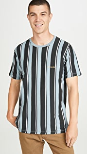 Barney Cools Homie Vertical Striped Tee Shirt