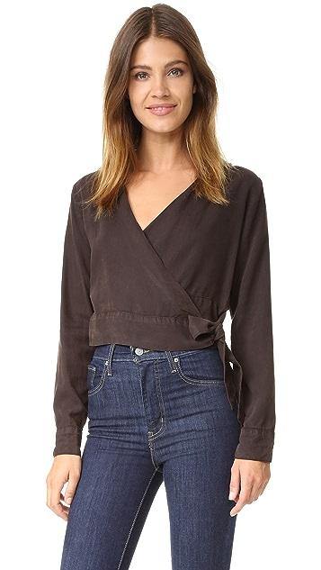 Bella Dahl Wrap Shirt