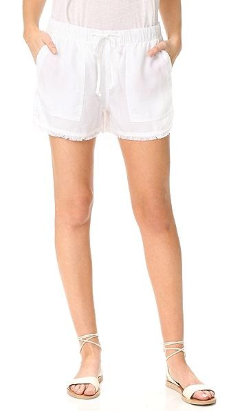 Fray Hem Shorts