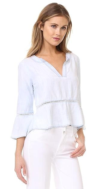 Bella Dahl Peplum Shirt
