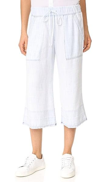 Bella Dahl Release Hem Crop Pants