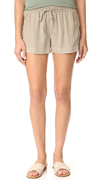 Bella Dahl Multi Stitched Shorts