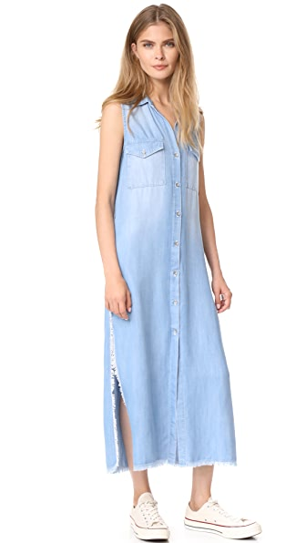 Bella Dahl Utility Duster Dress - Vintage Zion Wash