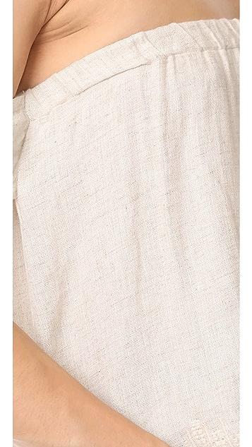 Bella Dahl Tie Sleeve Off Shoulder