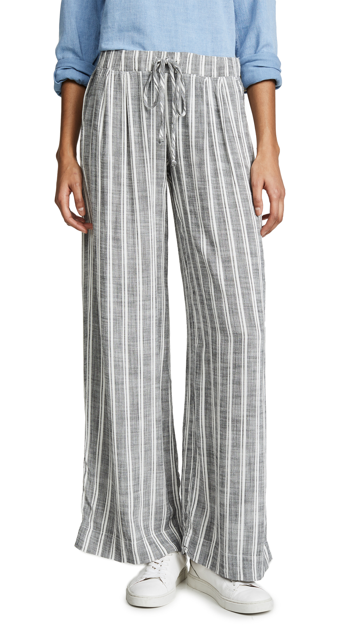 Bella Dahl Pleated Front Wide Leg Pants
