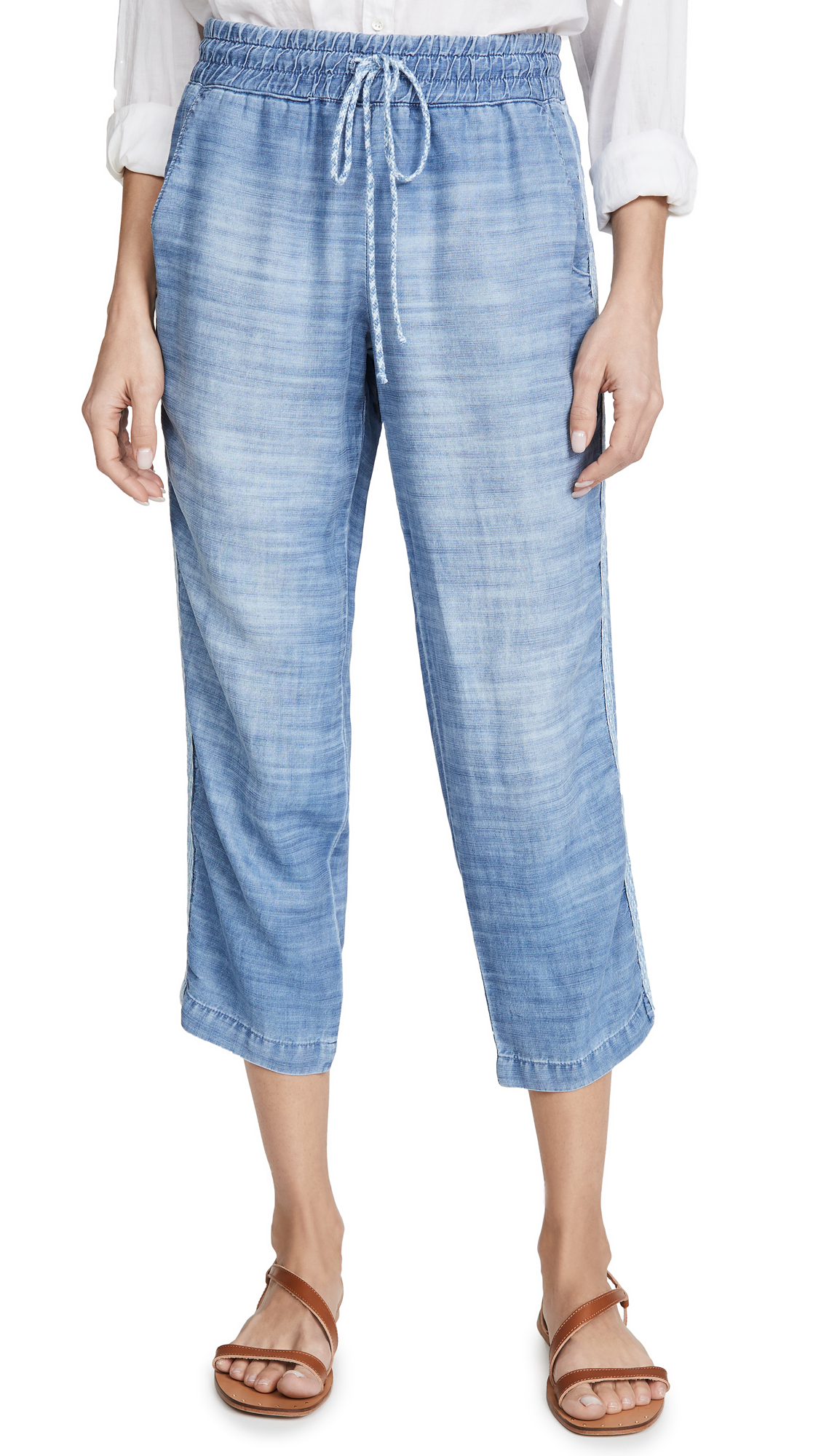 Buy Bella Dahl online - photo of Bella Dahl Pull On Chambray Pants