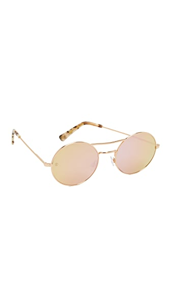 Beach Riot Beach Riot x D'Blanc Mirrored Sunglasses