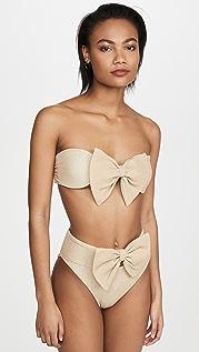 Beach Riot Bow Bikini Top