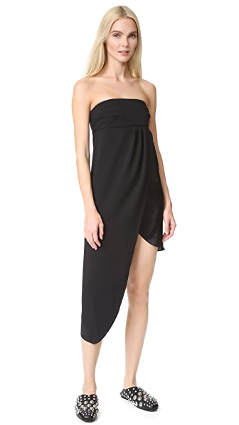 Baja East Strapless Dress - Embassy