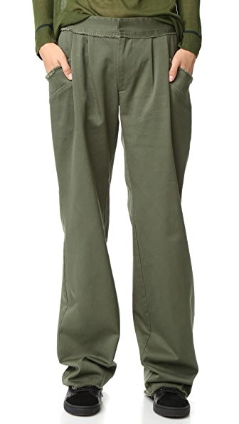 Baja East Canvas Pants