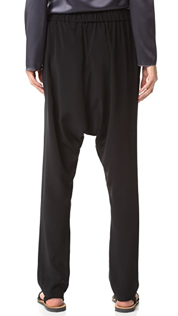Baja East Drop Crotch Pants