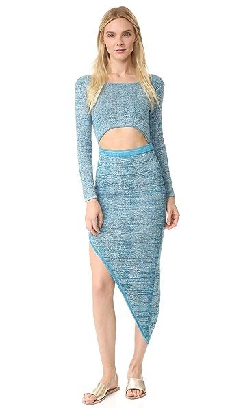 Baja East Knit Dress