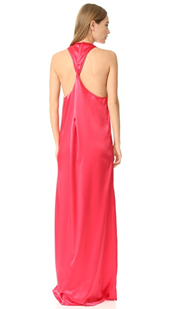Baja East Sleeveless Maxi Dress