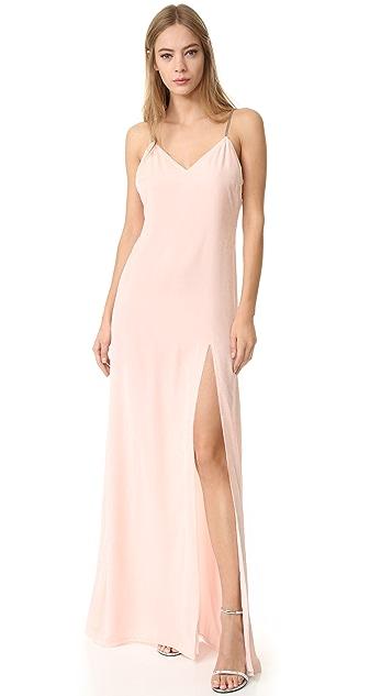 Baja East Sleeveless Gown