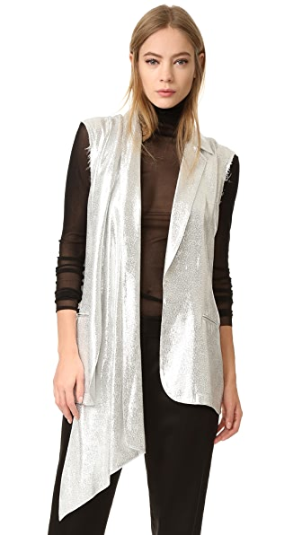 Baja East Vest In Silver