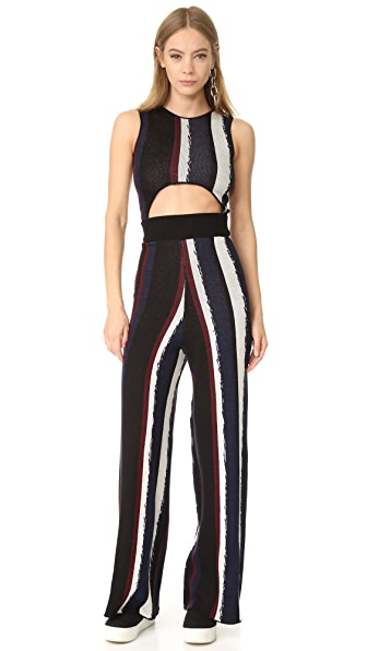 Baja East Sleeveless Jumpsuit