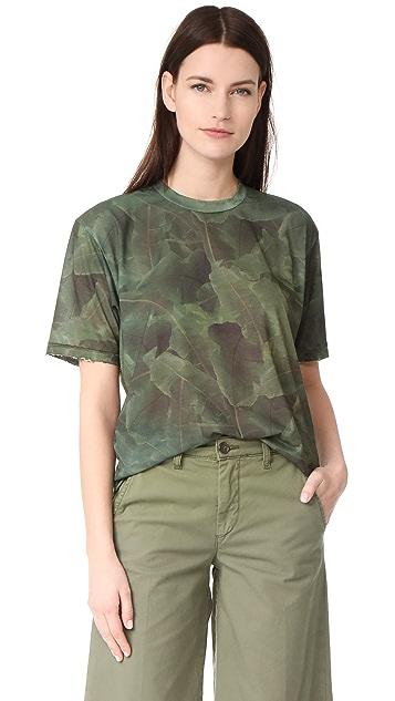 Baja East x Minions Palm Print T-Shirt