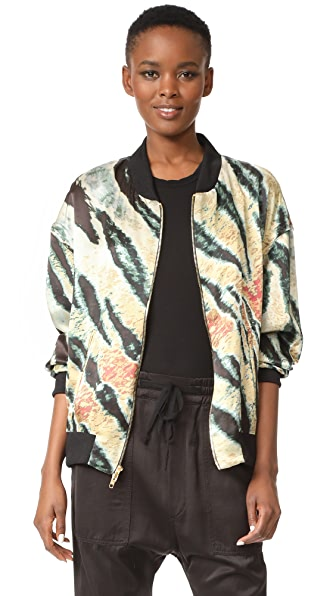Baja East Tiger Print Jacket - Tiger