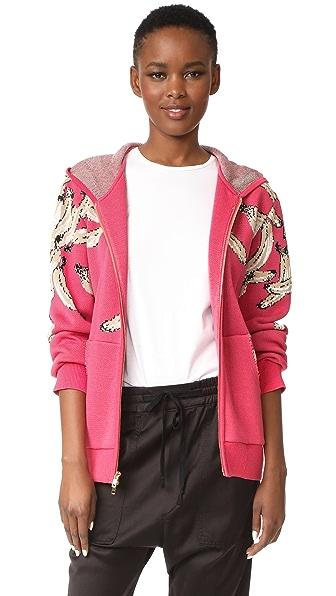 Baja East x Minions Printed Sweatshirt - Pink