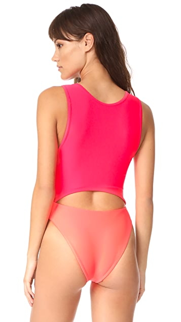 Baja East Cutout One Piece