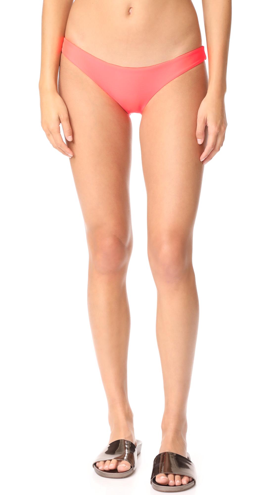 Baja East Bikini Bottoms - Granatina