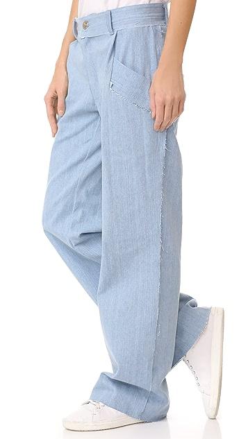 Baja East Denim Trousers