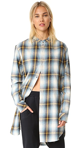 Baja East Button Down Shirt