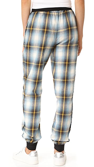 Baja East Ankle Trousers