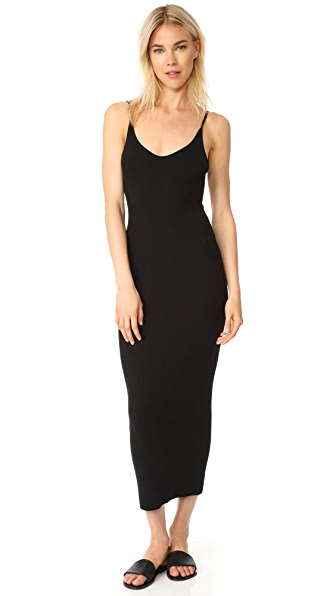 Baja East Cashmere Tank Dress - Embassy