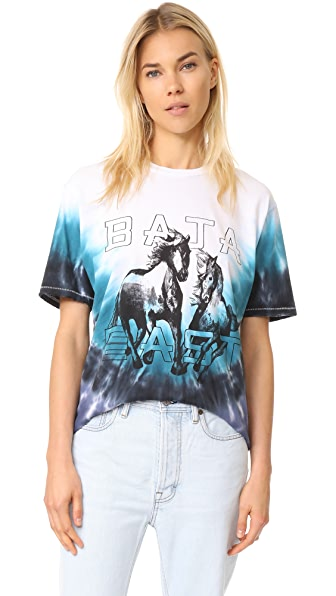 Baja East Crew Neck Tee