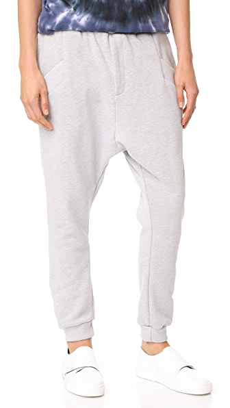 Baja East Ankle Joggers - Light Grey
