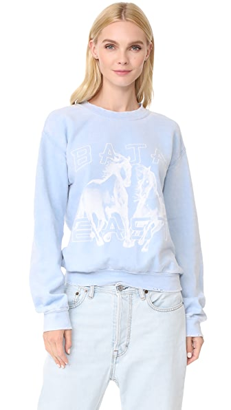 Baja East Graphic Sweatshirt