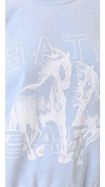 Baja East Graphic Sweatshirt
