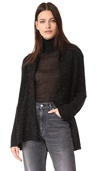 Baja East Long Sleeve Cardigan - Galaxy