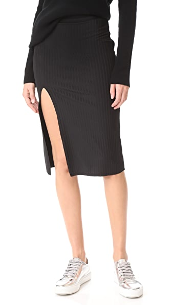 Baja East Slit Skirt - Embassy