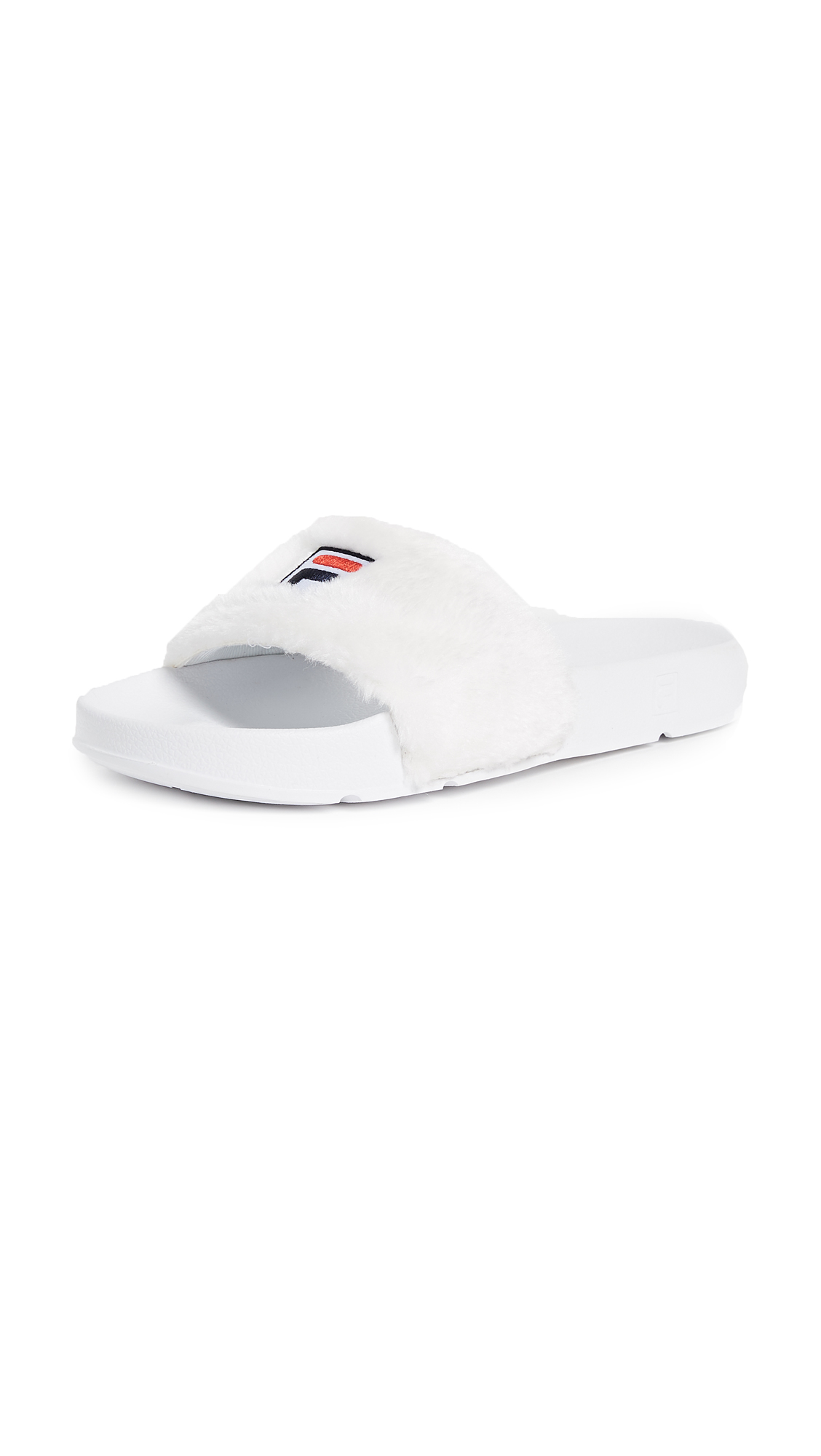 Baja East x FILA Sherpa Pool Slides - White