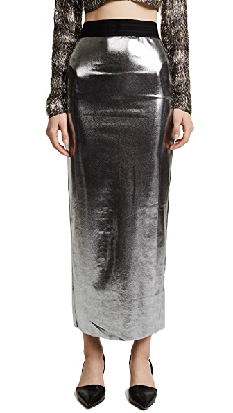 Baja East Long Skirt with Slit at Shopbop