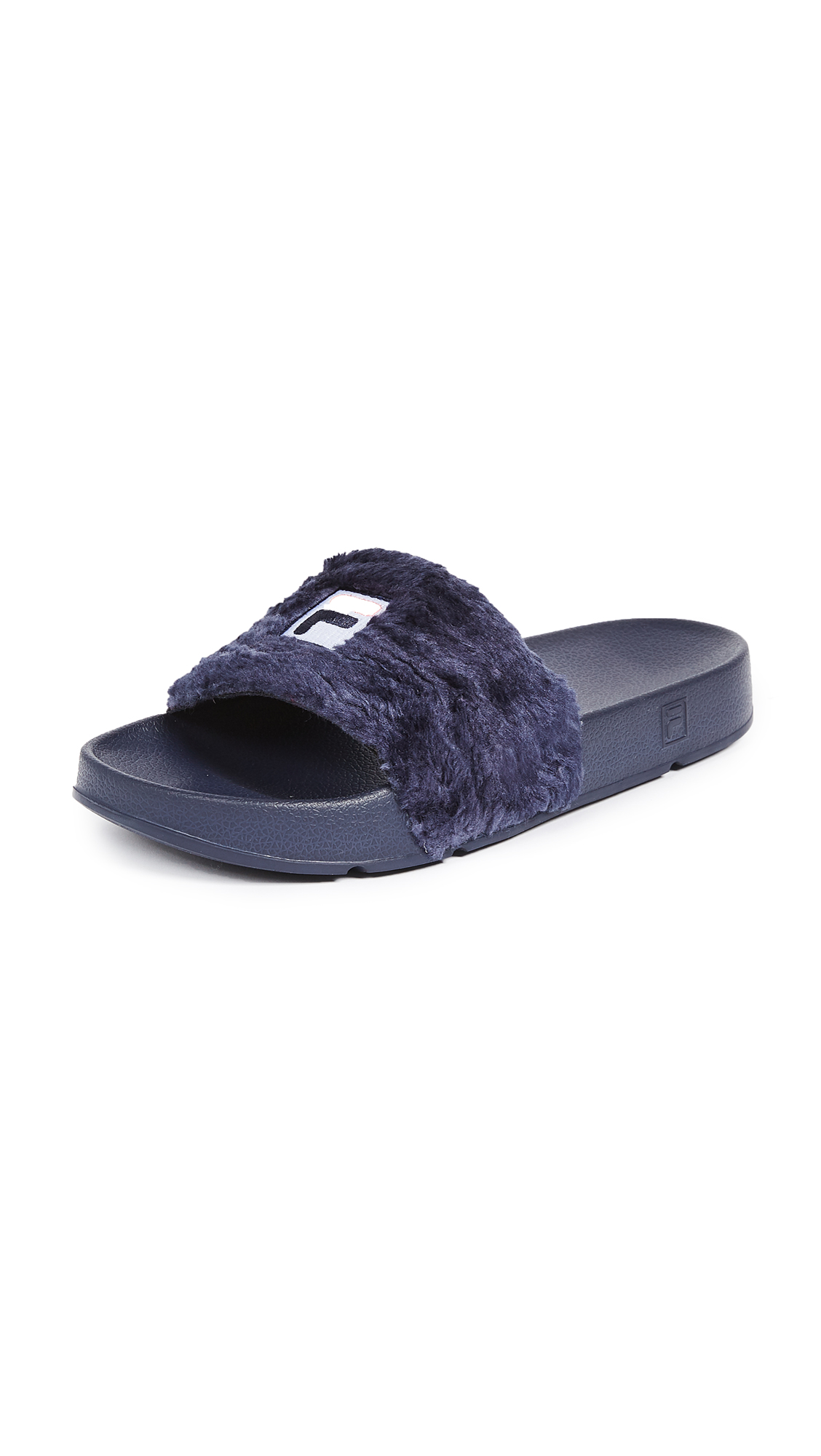 Baja East x FILA Sherpa Pool Slides - Navy