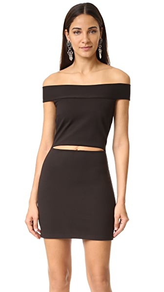 Bec & Bridge Georgia Mini Dress - Black