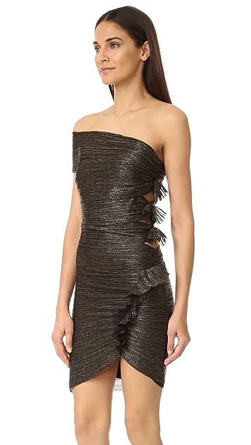 Bec & Bridge Glitter Rain Mini Dress