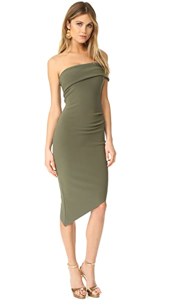 Bec & Bridge Love Ruler Asymmetrical Dress - Khaki