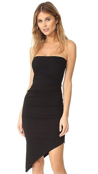 Bec & Bridge Cry of Lust Asymmetrical Dress - Black