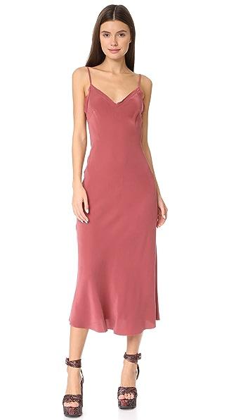 Bec & Bridge Classic Midi Dress In Lipstick