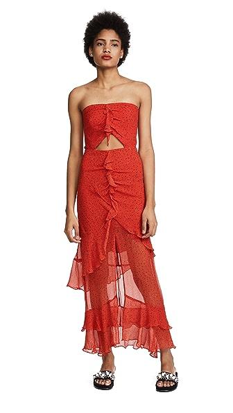Bec & Bridge French Kiss Maxi Dress In Print
