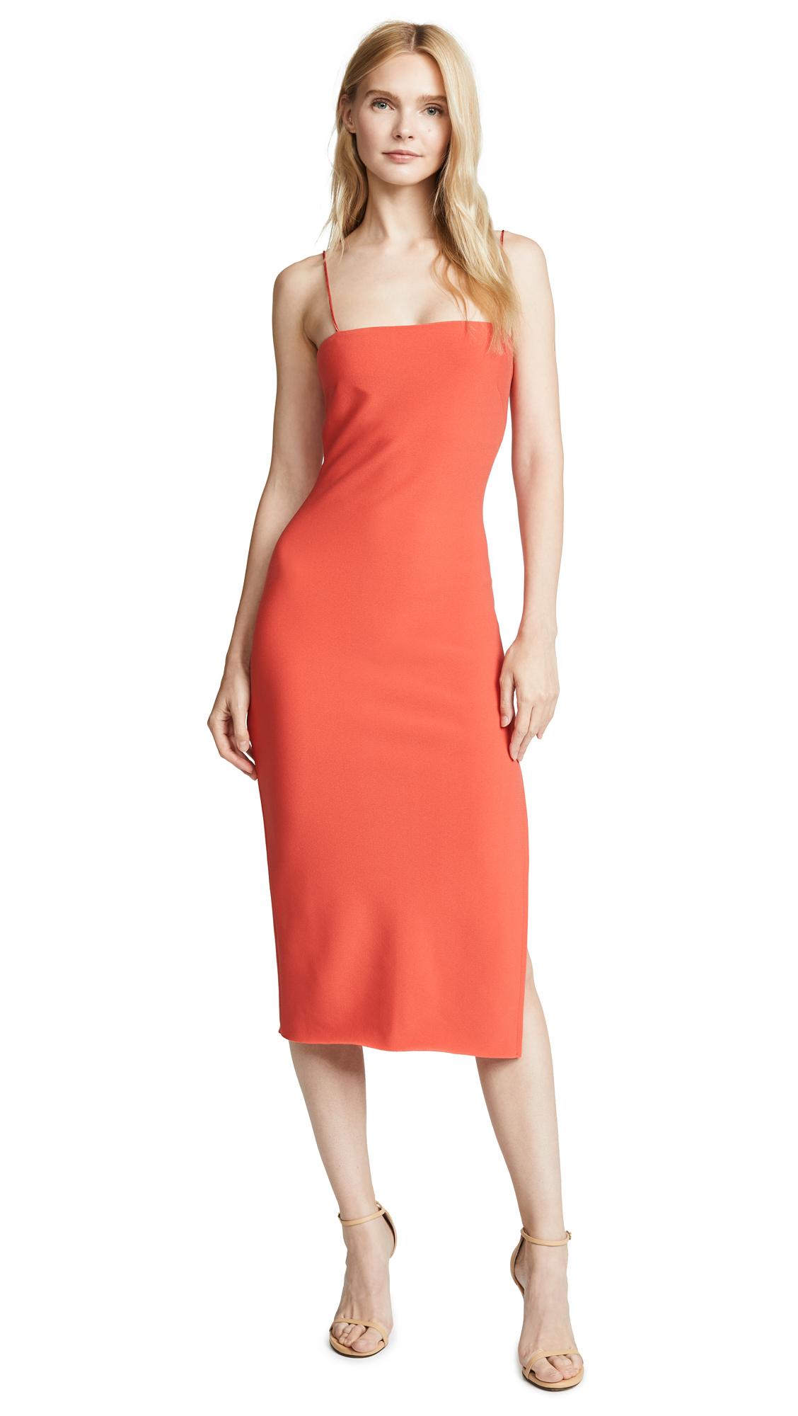 Bec & Bridge Dreamgirl Slim Midi Dress - Red