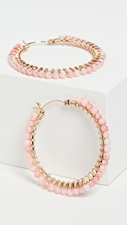 Beck Jewels Noche Rosa Parker Hoops