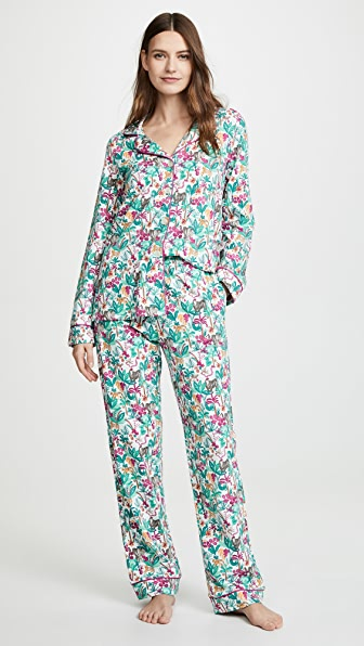 Bedhead Tops INTO THE JUNGLE PJ SET